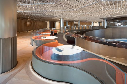 Architectural Products in Bloomberg HQ City of London Building