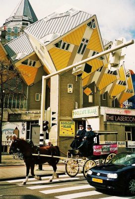 Cube Houses in Rotterdam - Unique Buildings from Around the World