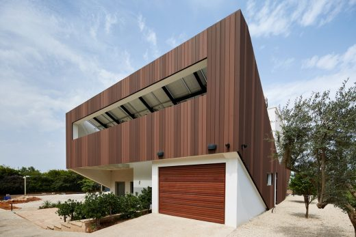 New Sustainable building in Israel: Eco Home design by Geotectura Studio Architects