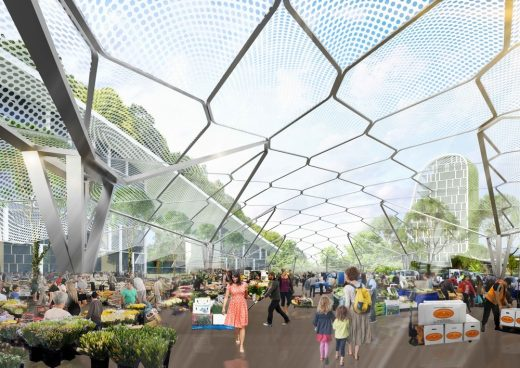Flemington Market Site Sydney Redevelopment design