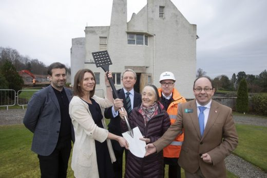 Hill House Box in Helensburgh building team
