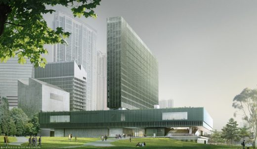 M+ building West Kowloon for WKCDA