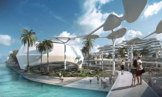 Maldives Airport Economic Zone Mixed-use Development design by CAA