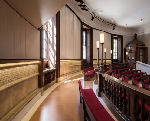 Marlborough College Memorial Hall building interior