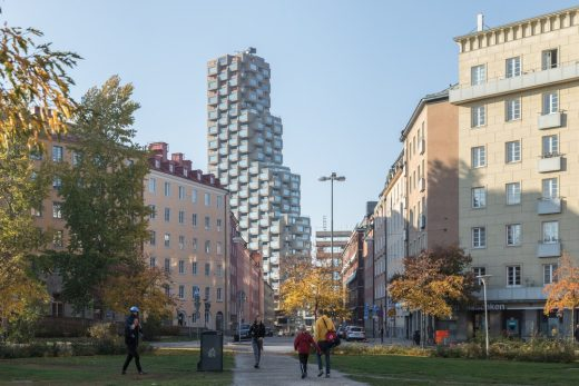 Norra Tornen in Stockholm Sweden - Swedish Architecture News