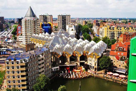Rotterdam Cube Houses building