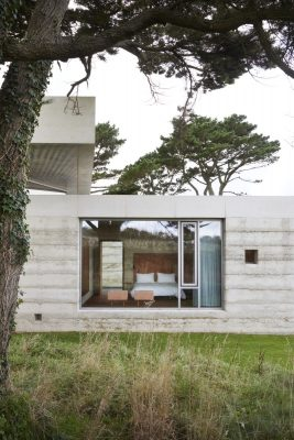 Secular Retreat house by Swiss architect Peter Zumthor in South Devon, England