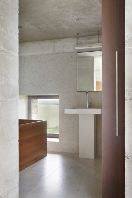Secular Retreat house by Swiss architect Peter Zumthor in Devon, England