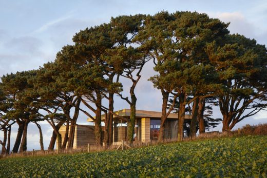 Secular Retreat house by Swiss architect Peter Zumthor in South Devon, UK