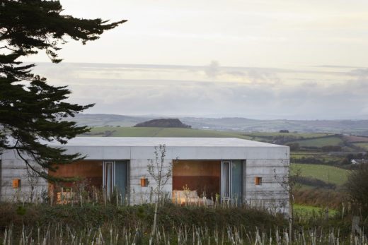 Secular Retreat house by Peter Zumthor in Devon England