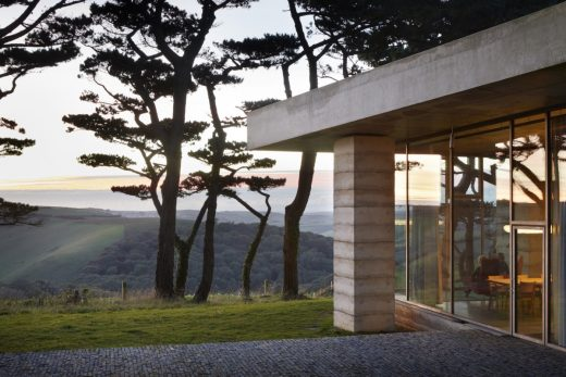 Secular Retreat house by Peter Zumthor in South Devon England