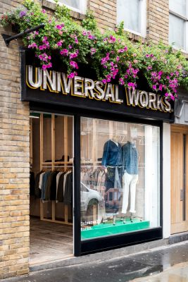 Universal Works x Berwick Street Soho London