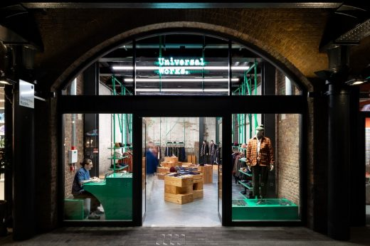 Universal Works x Coal Drops Yard in Kings Cross London