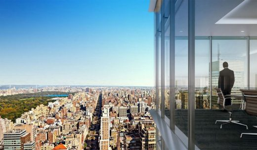 New York City Office Tower by Foster + Partners, Architects