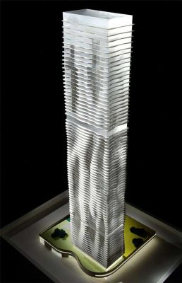 Aqua Tower Chicago skyscraper design