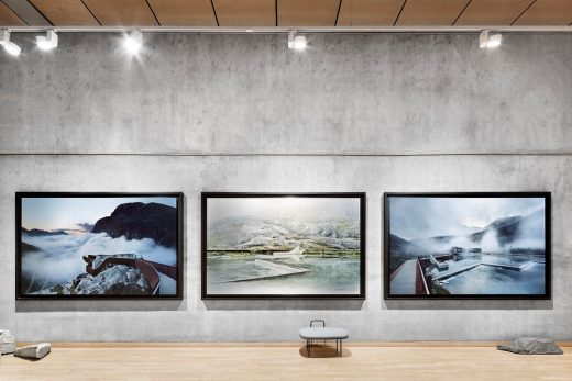 Architecture and Landscape in Norway Exhibition Felleshus of the Nordic Embassies Berlin