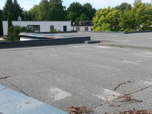 Choose a flat roof for your building