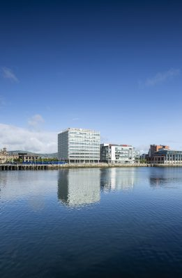City Quays 2 Belfast Harbour building by Grimshaw architects