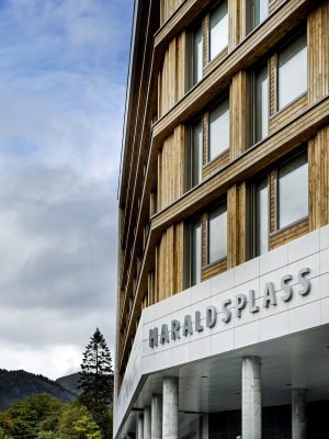 Haraldsplass Hospital Building in Bergen