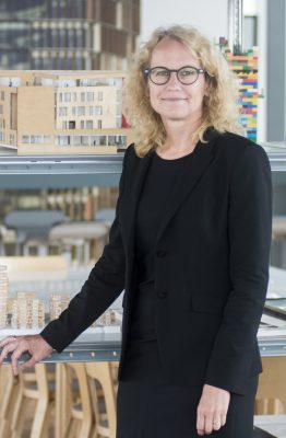 Lone Bendorff as partner and CEO at C.F. Møller Architects