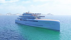 New Yachts 2018 Fincantieri project Mirage