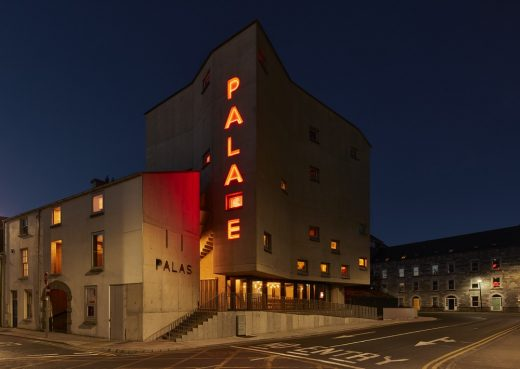 Pálás Cinema Galway building Ireland design by dePaor architects