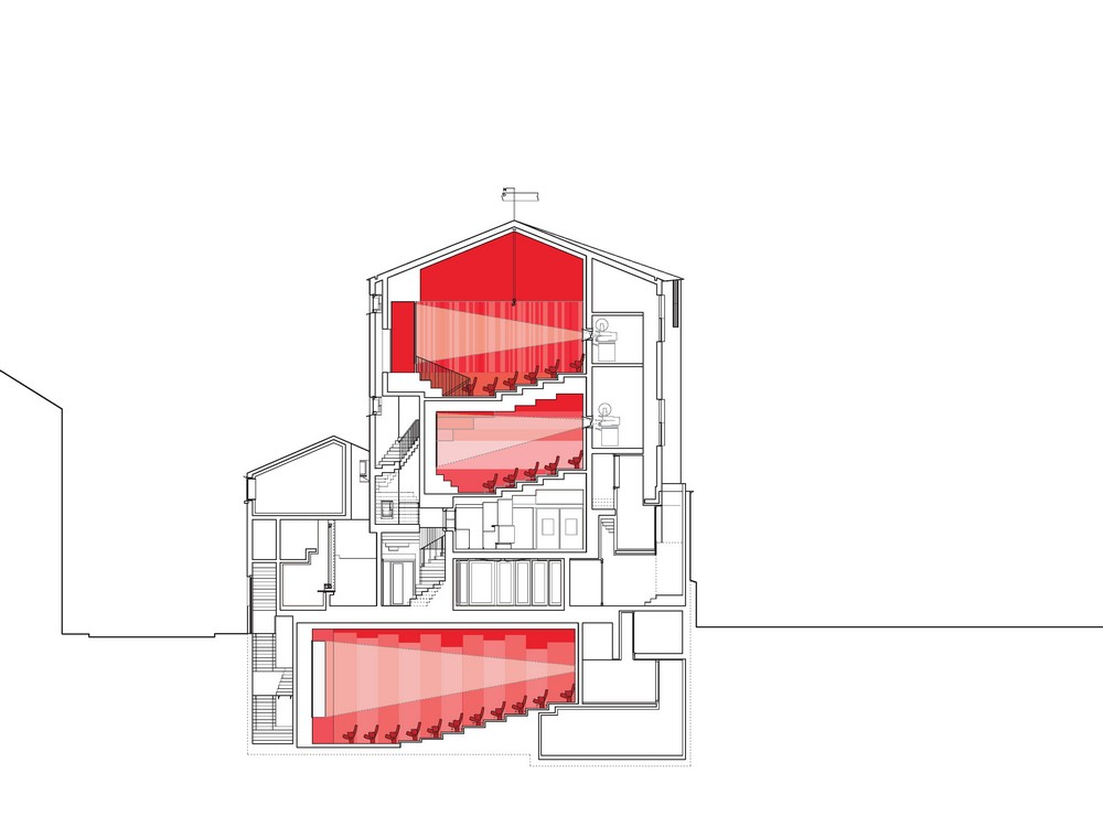 P 225 L 225 S Cinema Galway Building By Depaor E Architect