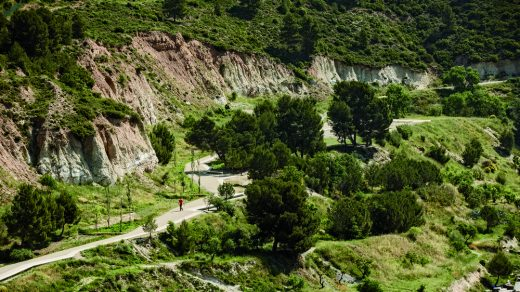 Pedestrian Path along the Gypsum Mines, Igualada