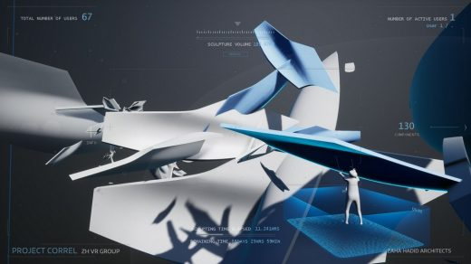 Project Correl Interactive Virtual Reality Experience by Zaha Hadid Virtual Reality Group (ZHVR)