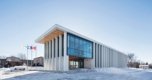 Rigaud City Hall in Quebec