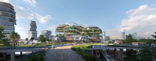 Socio Technical City of the Future-in the Hague by UNStudio Architects