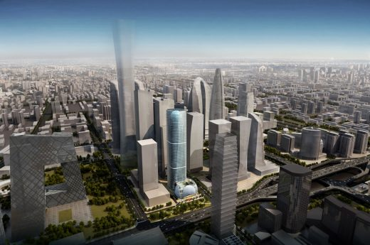 Sunshine Insurance Towers in China design by Woods Bagot Architects