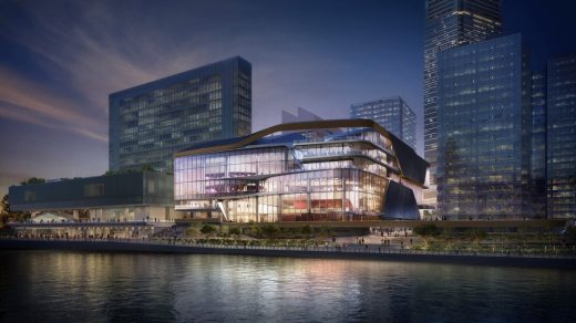 The Lyric Theatre Complex in West Kowloon