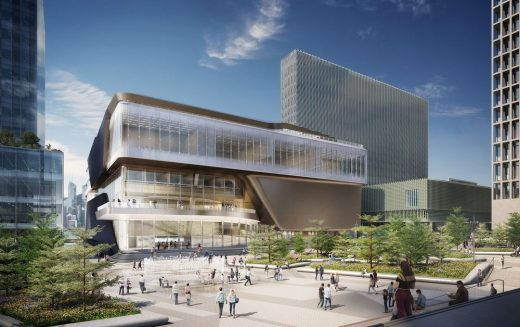 The Lyric Theatre Complex in West Kowloon by UNStudio Architects