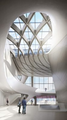 West Kowloon Arts and Leisure Architecture by UNStudio