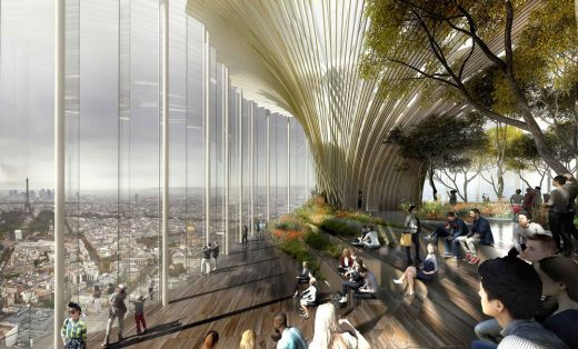 Tour Montparnasse design by Studio Gang Architects Chicago
