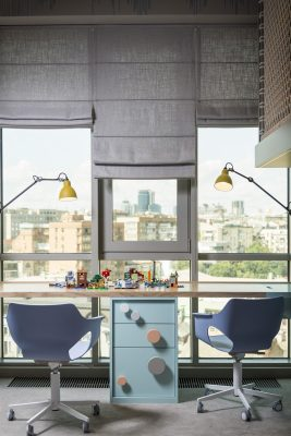 Tower Apartment in Kyiv by Dreamdesign