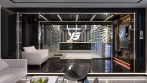 UKRBUD Kiev Offices building interior Ukraine