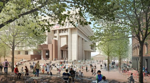 Boston City Hall building renewal design