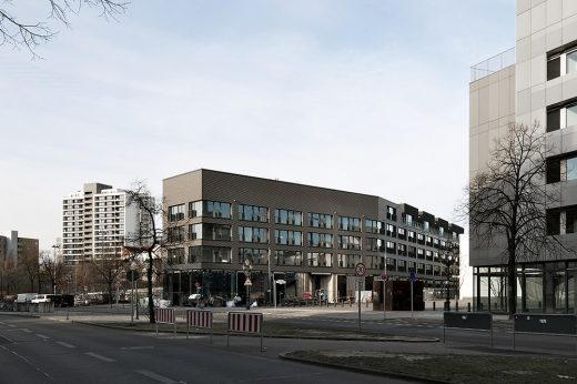 Residential and studio building at the former Berlin flower market