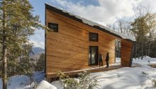 Cabin on a Rock in the White Mountains