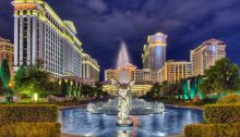 Caesars Palace with Fountain, Las Vegas