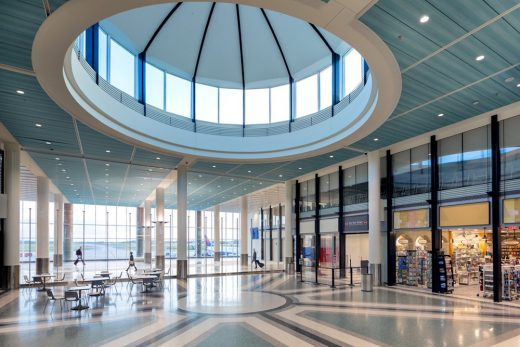 Charleston International Airport Terminal Redevelopment building