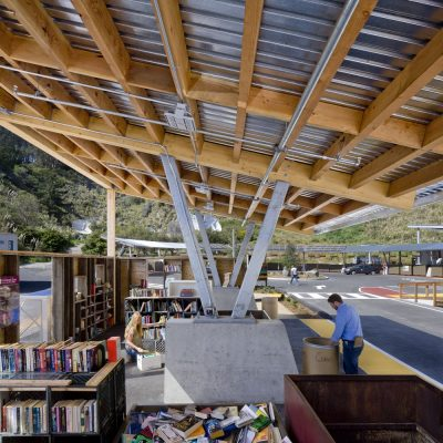 El Cerrito Recycling + Environmental Resource Center by Noll & Tam Architects