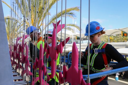 Formation Installations at San Diego International Airport