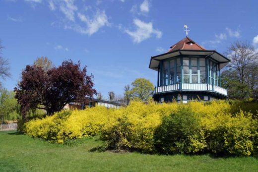 Horniman Museum bandstand in London