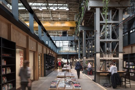 Dutch Community Building design by CIVIC architects and Mecanoo