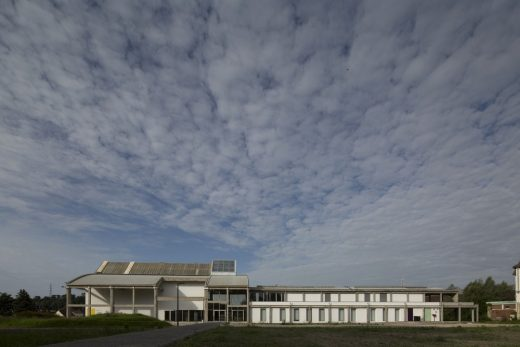 The Perret Hall Cultural Centre building in France