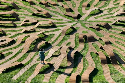 Root Bench in Seoul