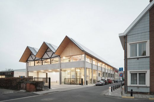Ryhove Urban Factory Ghent building